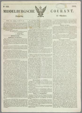 Middelburgsche Courant 1862-10-11