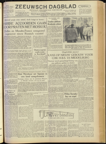 Zeeuwsch Dagblad 1954-11-22