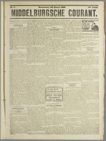 Middelburgsche Courant 1925-03-25