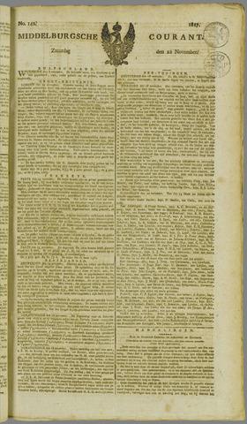 Middelburgsche Courant 1817-11-22