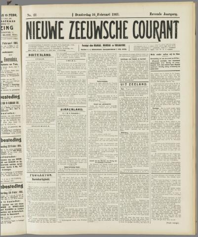 Nieuwe Zeeuwsche Courant 1911-02-16