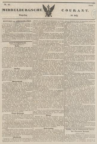 Middelburgsche Courant 1844-07-16