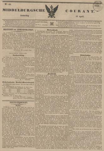 Middelburgsche Courant 1843-04-15