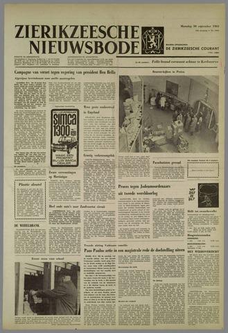 Zierikzeesche Nieuwsbode 1963-09-30
