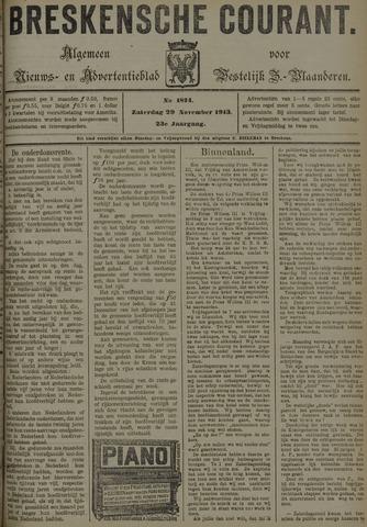 Breskensche Courant 1913-11-29