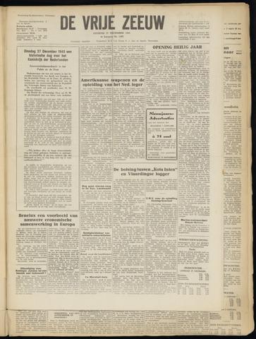 de Vrije Zeeuw 1949-12-27