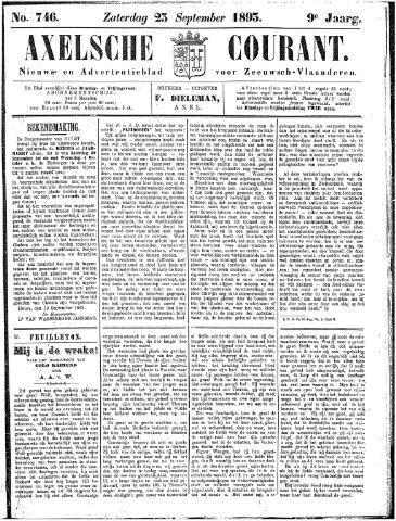 Axelsche Courant 1893-09-23