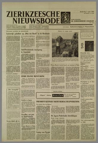 Zierikzeesche Nieuwsbode 1963-04-04