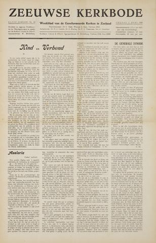 Zeeuwsche kerkbode, weekblad gewijd aan de belangen der gereformeerde kerken/ Zeeuwsch kerkblad 1956-06-01