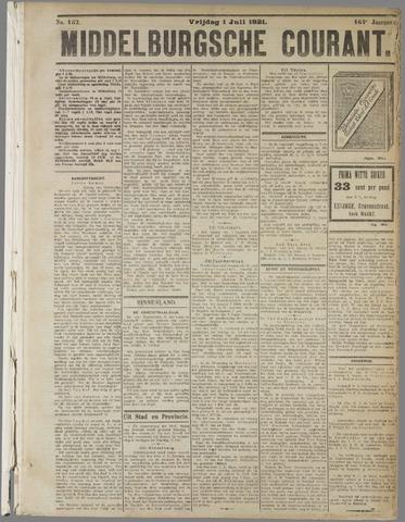 Middelburgsche Courant 1921-07-01