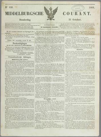 Middelburgsche Courant 1861-10-31