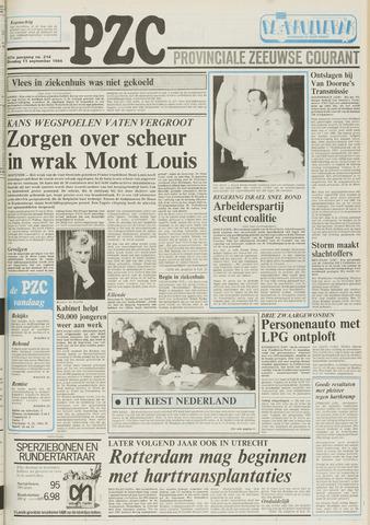 Provinciale Zeeuwse Courant 1984-09-11