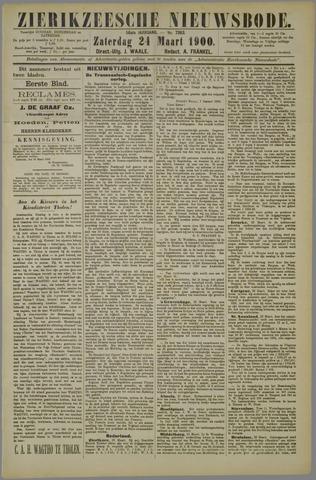 Zierikzeesche Nieuwsbode 1900-03-24
