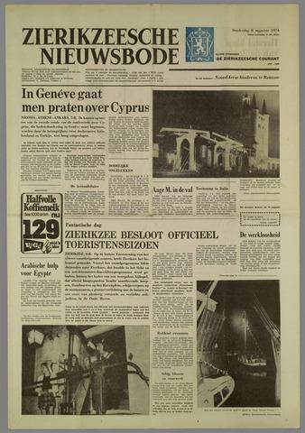 Zierikzeesche Nieuwsbode 1974-08-08