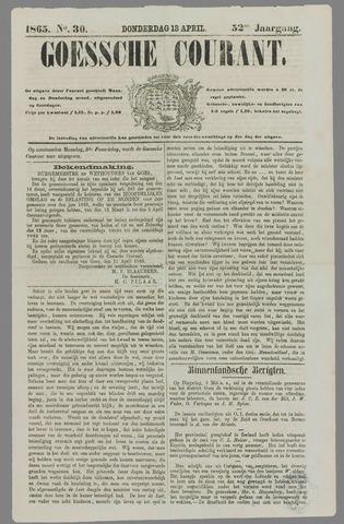 Goessche Courant 1865-04-13