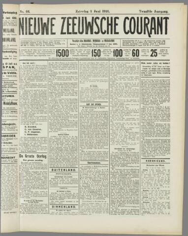 Nieuwe Zeeuwsche Courant 1916-06-03