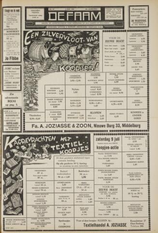 de Faam en de Faam/de Vlissinger 1960-07-08