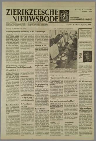 Zierikzeesche Nieuwsbode 1963-12-19