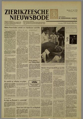 Zierikzeesche Nieuwsbode 1970-07-27