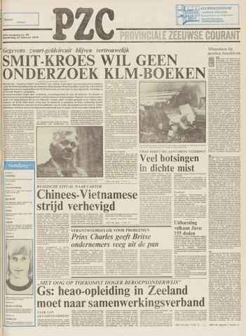 Provinciale Zeeuwse Courant 1979-02-22