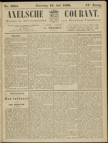 Axelsche Courant 1896-07-18