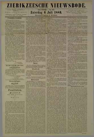 Zierikzeesche Nieuwsbode 1889-07-06