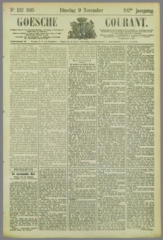 Goessche Courant 1915-11-09
