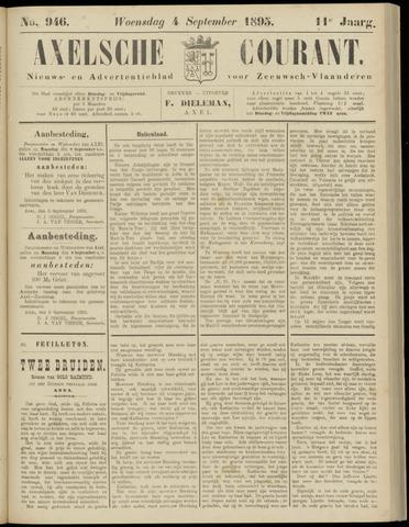 Axelsche Courant 1895-09-04
