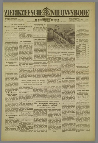 Zierikzeesche Nieuwsbode 1952-09-05