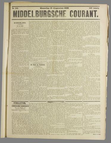 Middelburgsche Courant 1925-08-10