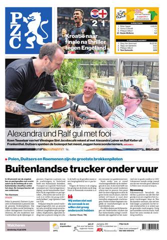 Provinciale Zeeuwse Courant 2018-07-12