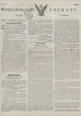 Middelburgsche Courant 1866