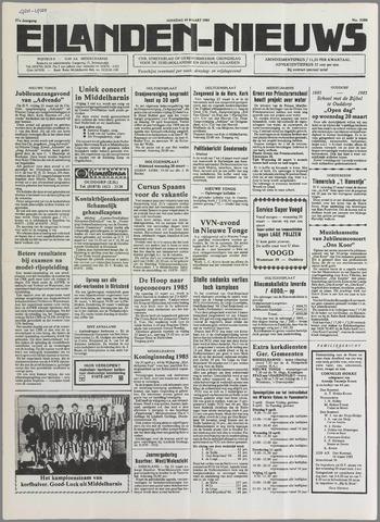 Eilanden-nieuws. Christelijk streekblad op gereformeerde grondslag 1985-03-19