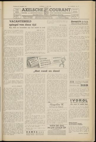 Axelsche Courant 1952-07-05