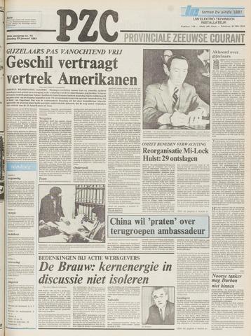 Provinciale Zeeuwse Courant 1981-01-20