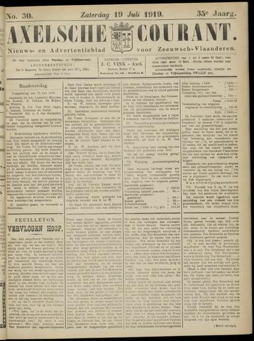 Axelsche Courant 1919-07-19