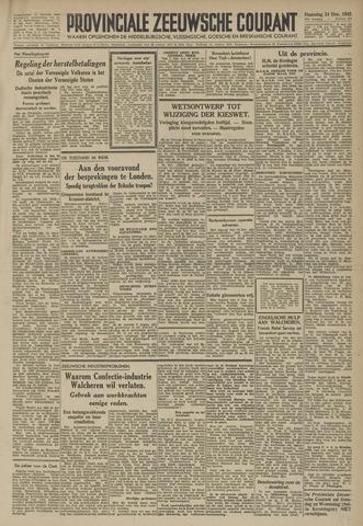 Provinciale Zeeuwse Courant 1945-12-24
