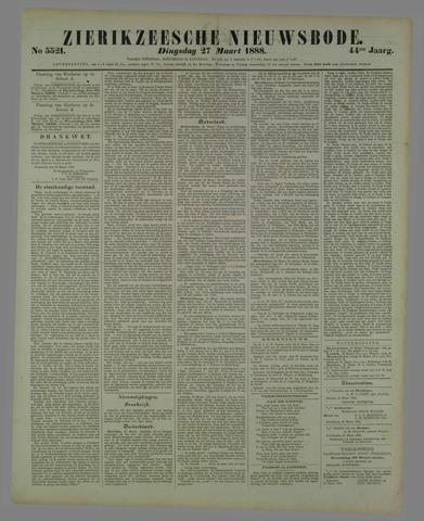 Zierikzeesche Nieuwsbode 1888-03-27