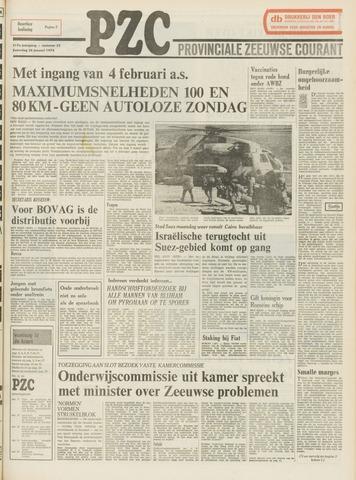 Provinciale Zeeuwse Courant 1974-01-26