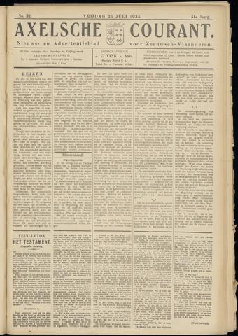 Axelsche Courant 1935-07-26
