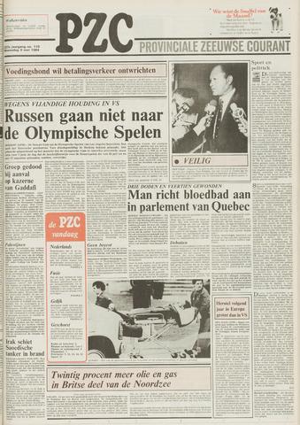 Provinciale Zeeuwse Courant 1984-05-09
