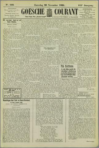 Goessche Courant 1924-11-29