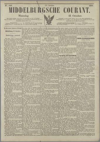 Middelburgsche Courant 1895-10-21