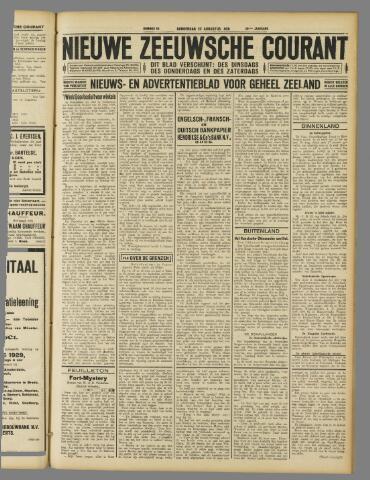 Nieuwe Zeeuwsche Courant 1929-08-22