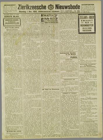 Zierikzeesche Nieuwsbode 1926-11-01