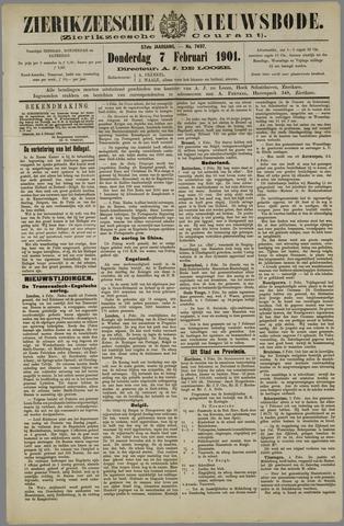 Zierikzeesche Nieuwsbode 1901-02-07