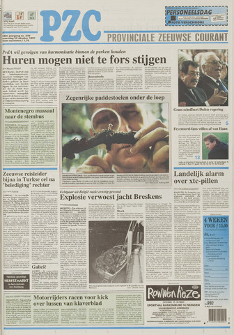 Provinciale Zeeuwse Courant 1997-10-20