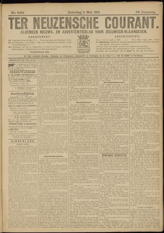Ter Neuzensche Courant. Algemeen Nieuws- en Advertentieblad voor Zeeuwsch-Vlaanderen / Neuzensche Courant ... (idem) / (Algemeen) nieuws en advertentieblad voor Zeeuwsch-Vlaanderen 1914-05-02