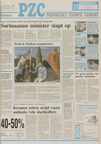 Provinciale Zeeuwse Courant 1991-07-30