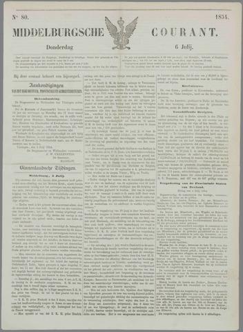 Middelburgsche Courant 1854-07-06